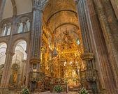 Botafumeiro and altar #2 — Foto de Stock