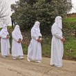 Easter traditional procession — Stockfoto