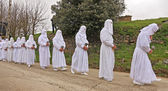 Easter traditional procession — Stock Photo