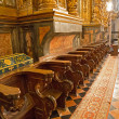 Foto Stock: Choir stall
