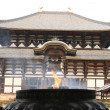 Stock Photo: Front view of Nartemple, japan