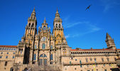 Cathedral of Santiago facade — Stockfoto