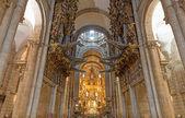 Kostelní varhany široký úhel — Stock fotografie