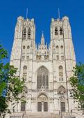 聖者ミハエルおよびブリュッセルの gudule — ストック写真