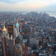 Manhattan dusk — Stock Photo