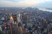 Manhattan dusk — Stock Photo