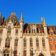 Stock Photo: Town Hall, Bruges