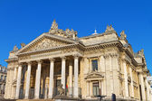Brussels Stock Exchange in Belgium — Stock Photo