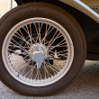 Stock Photo: Vintage wheel