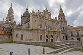 Cathedral of Santiago Azabacheria — Stock Photo