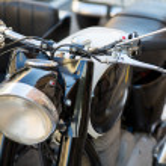 Vintage handlebar — Stock Photo #11690039