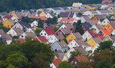 Colorful roofs — Stock Photo