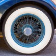 Vintage wheel — Stock Photo
