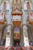 Organo della chiesa — Foto Stock