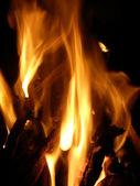 Dans av brand — Stockfoto