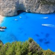 Shipwreck of Zante, Greece — Stock Photo