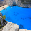 Stock Photo: Shipwreck beach, Zante island, Greece