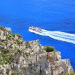 Cruise on Ionian sea, Greece — Stock Photo