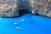 Playa navagio — Foto de Stock