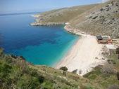Lamana beach, South Albania — Stock Photo