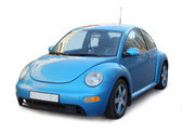 Small Blue Car — Stock Photo
