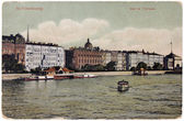 Petersburg Postcard — Stock Photo