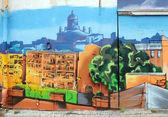 Graffiti urbano — Foto de Stock