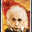 Einstein - Guinea Stamp — Stock Photo #11723415