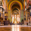 Baroque nave — Stock Photo