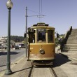 Old Tram in Lisbon — Stock Photo