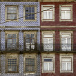 Old facade Portuguese — Stock Photo #12139611