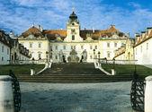 Valtice lock state - Moravia — Stock Photo