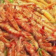 Stock Photo: Shrimps and prawns