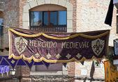 Medieval market — Stock Photo