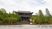 Sanmon gate av chion, japan — Stockfoto