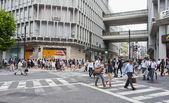 Shibuya district in Tokyo, Japan — Stock Photo