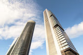 Cuatro Torres Business Area, Madrid — Stock Photo