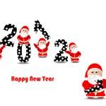 Happy New year 2012 — Stock Vector #11225738