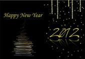 С новым годом 2012 — Cтоковый вектор