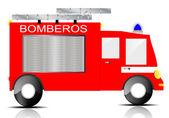 Fire truck — Stock Vector