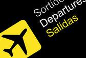 Departure — Stock Vector