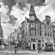 Amsterdam.Black & white photography — Lizenzfreies Foto