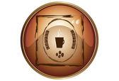 Logo coffee — Stock Vector