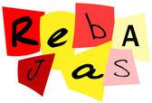 Sales in spanish — Stock Vector