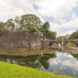 Royal Bridge and Imperial Palace in Tokyo — Stock Photo