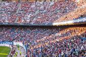 Vicente calderon gradinate di stadium, madrid — Foto Stock