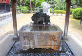 Purification Fountain in Shinto Temple. — Foto Stock
