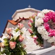 Cemetery on Samos — Stock Photo
