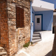 Buildings on Samos — Stock fotografie