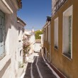Buildings on Samos - Stock Photo